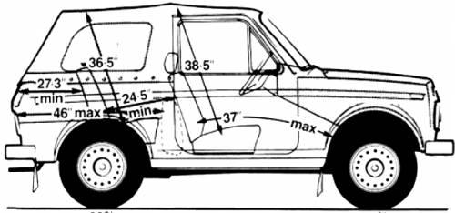 Lada Niva Cabriolet 4x4 (1987)