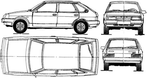 Lada Samara 5-Door VAZ-2109