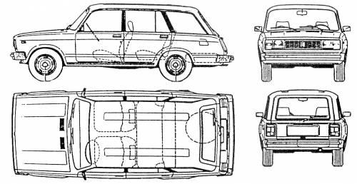 Lada VAZ 2104 Riva Kombi 1.7i