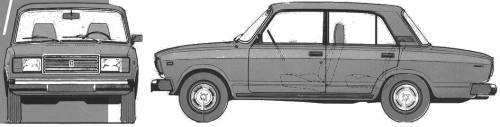 Lada VAZ 2107 Riva