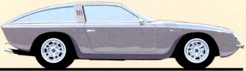 Lamborghini 400 GT Shooting Brake Touring (1966)