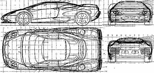 Lamborghini Canto (1999)