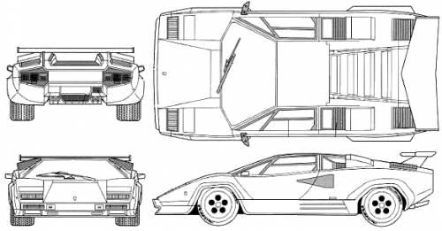 Lamborghini Countach 5000S (1988)