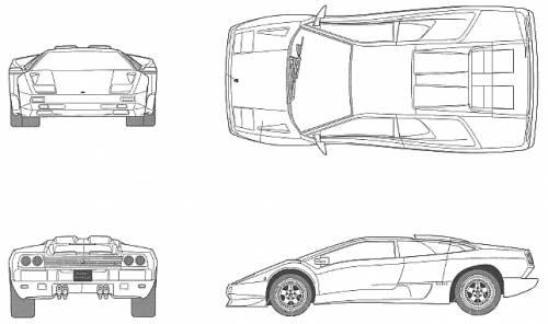 Lamborghini Diablo SV MY99