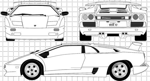 Lamborghini Diablo VT (1995)
