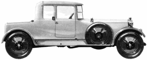 Lanchester 40hp Coupe (1924)