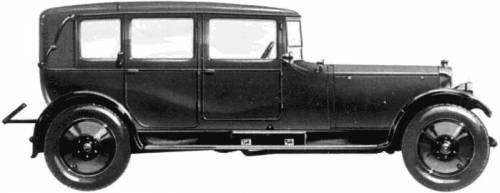 Lanchester 40hp Landaulet (1923)
