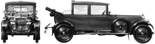 Lanchester 40hp Landaulet (King George VI) (1929)