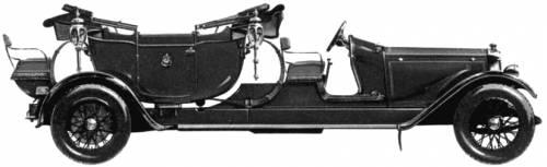 Lanchester 40hp State Landau (1924)