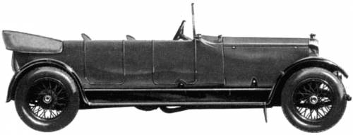 Lanchester 40hp Tourer LWB (1920)