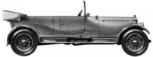 Lanchester 40hp Tourer SWB (1926)