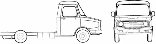 Leyland Sherpa Chassis Cab (1976)