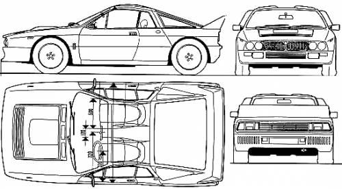 Lancia 037 Rallye (1982)