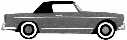 Lancia Appia S3 Cabriolet Vignale (1959)