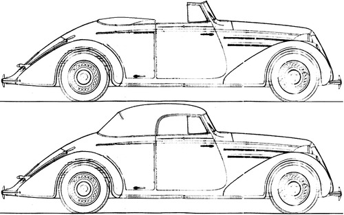 Lancia Aprilia Convertible (1937)