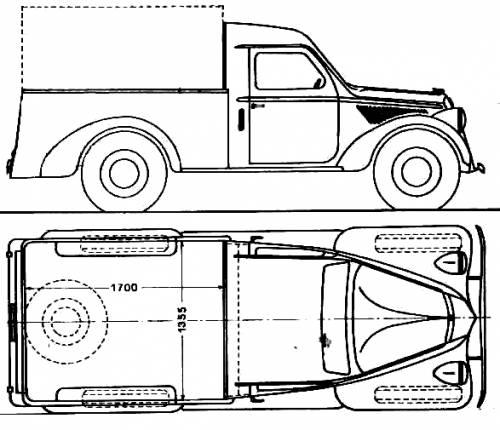 Lancia Ardea Camioncino (1949)