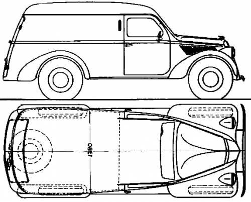 Lancia Ardea Furgoncino (1949)