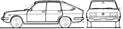 Lancia Beta 1300 (1977)