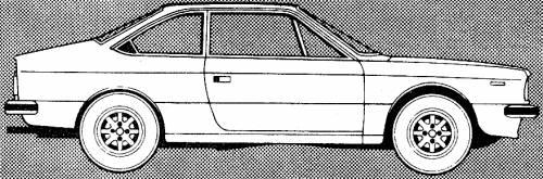 Lancia Beta Coupe (1979)