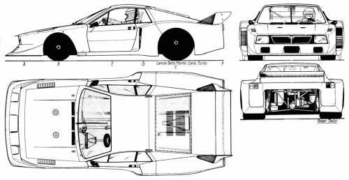 Lancia Beta Monte Carlo