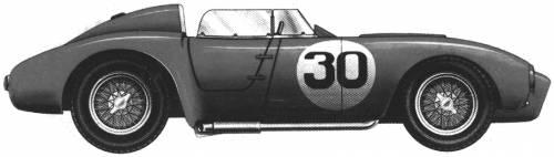 Lancia D24 Mille Miglia (1954)