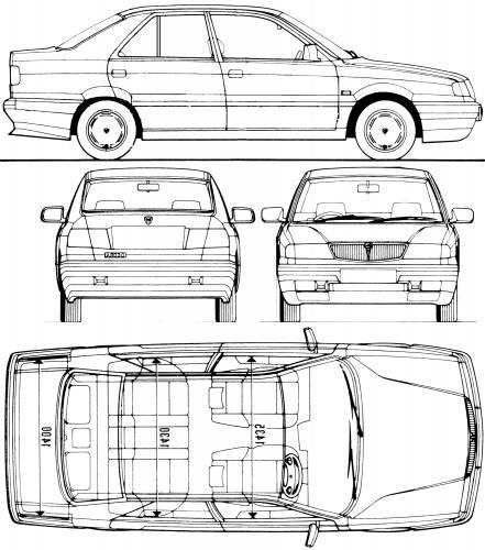 Lancia Dedra (1992)