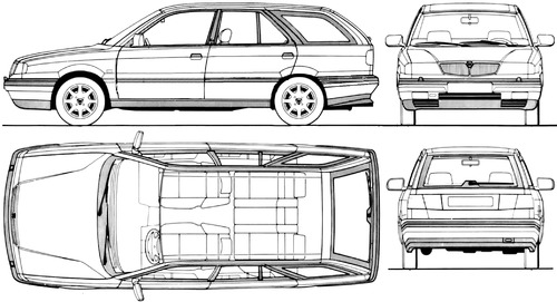 Lancia Dedra SW (1994)