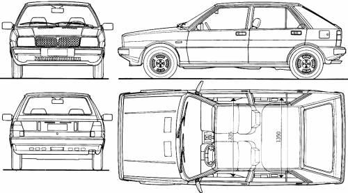 Lancia Delta 1600L (1979)