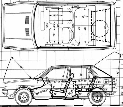 Lancia Delta 1.5 (1980)