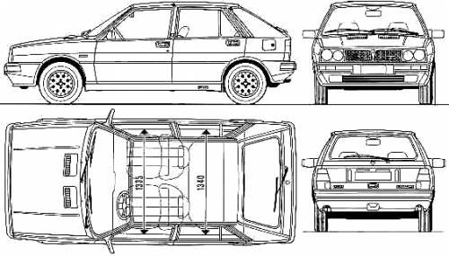 Lancia Delta HF 4WD (1989)