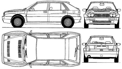 Lancia Delta HF Integrale (1993)