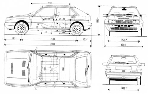 Lancia Delta Integrale 8V