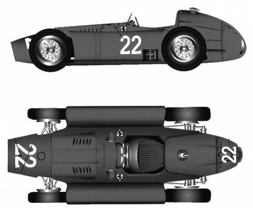 Lancia Ferrari D50 version C