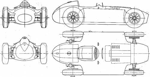 Lancia Ferrari F1 GP (1957)