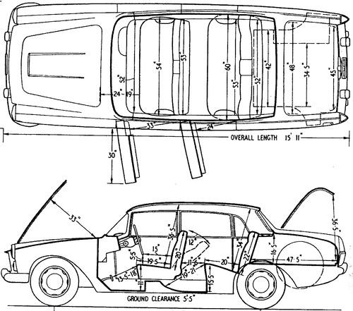 Lancia Flaminia (1962)