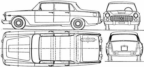 Lancia Flaminia 2.8 Berlina (1968)