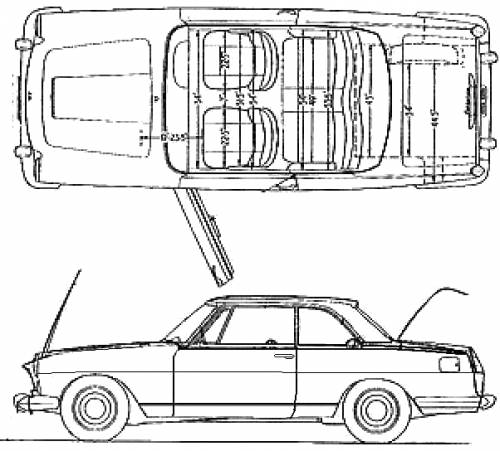 Lancia Flaminia Coupe (1965)