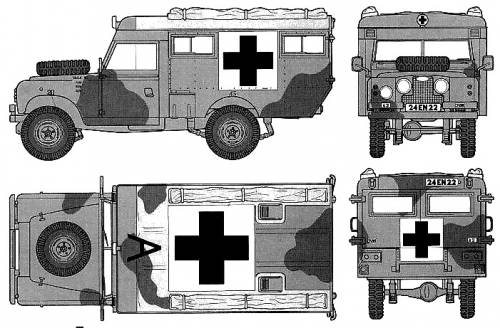 Land Rover 109 Ambulance