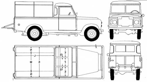 Land Rover 109 Pick-up (1973)