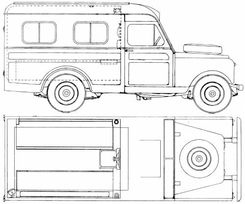 Land Rover 109 S2 Ambulance