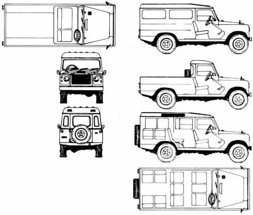 Land Rover 109 Santana (1975)