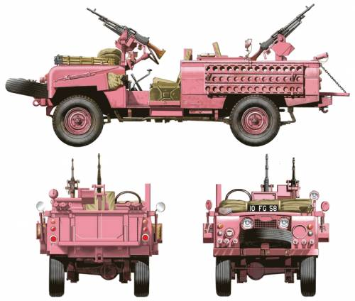 Land Rover 109 SAS Recon Vehicle