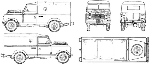 Land Rover 109 Soft Top