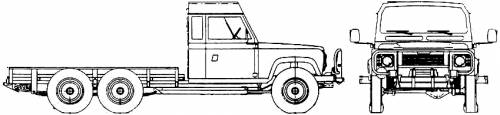 Land Rover 110 6x6 Heavy Duty