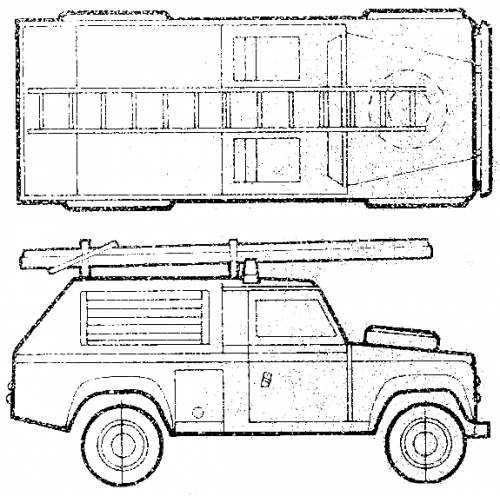 Land Rover 110 Fire Appliance Mk. IV