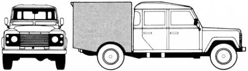Land Rover 130 Crew Cab