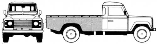 Land Rover 130 Single Cab