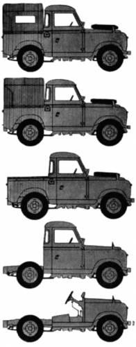 Land Rover 88 S2 (1968)