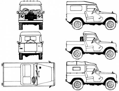 Land Rover 88 Santana (1975)