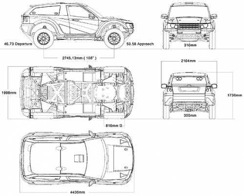 Land Rover Bowler Nemesis